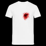 T-Shirts ~ Men's T-Shirt ~ Gunshot T-Shirt