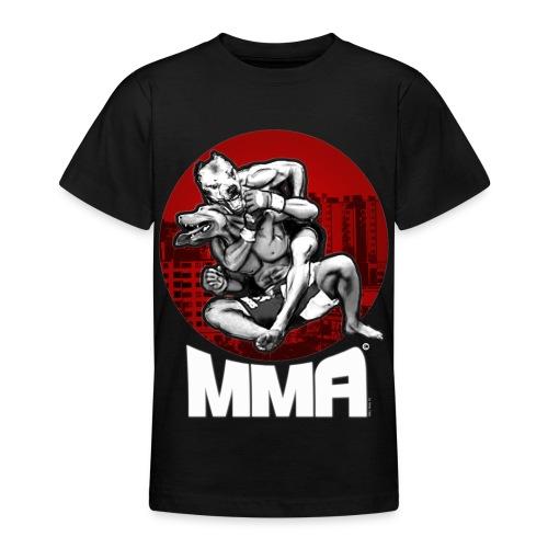 MMA Fittja Klassisk T-shirt tonåring - T-shirt tonåring