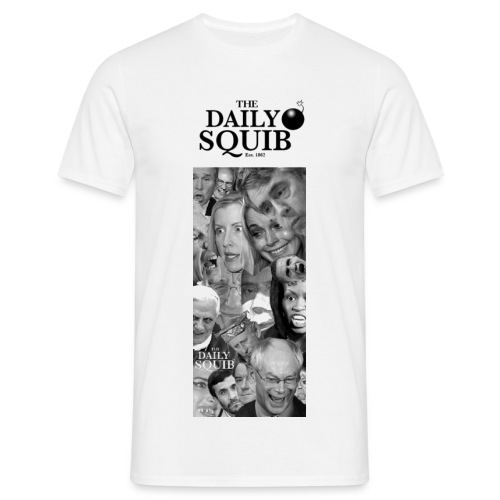 Men's Daily Squib Collage 2 T-Shirt - Men's T-Shirt