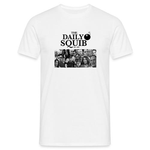 Men's Daily Squib Collage 1 T-Shirt - Men's T-Shirt