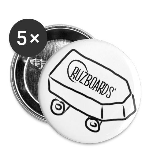 Cruzboard-Buttons // 5er Pack - Buttons mittel 32 mm (5er Pack)