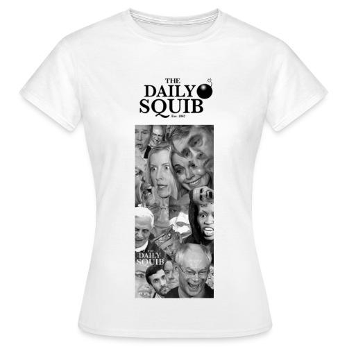 Women's Daily Squib Collage 2 T-Shirt - Women's T-Shirt