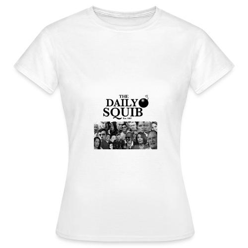 Women's Daily Squib Collage 1 T-Shirt - Women's T-Shirt
