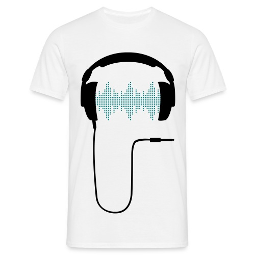 Headphones 2 Mens - Men's T-Shirt