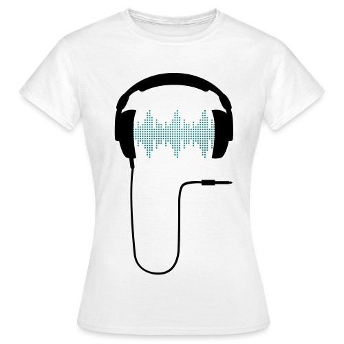 Headphones 2 Women - Women's T-Shirt