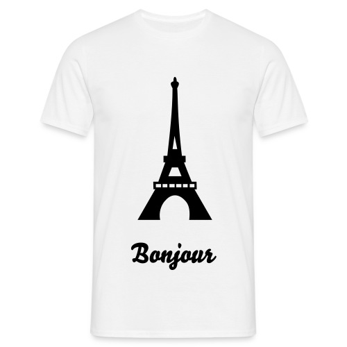Bonjour Mens - Men's T-Shirt