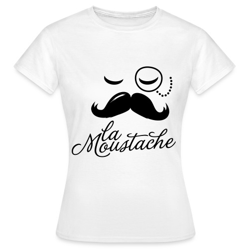 La moustache Womens - Women's T-Shirt