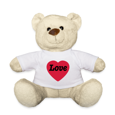 Heart with Love Teddies