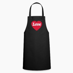 Heart with Love  Aprons
