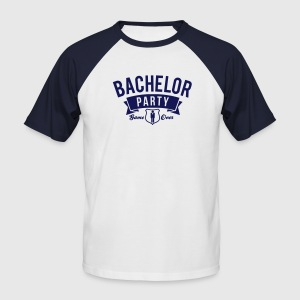 bachelor party T-Shirts - Men's Baseball T-Shirt
