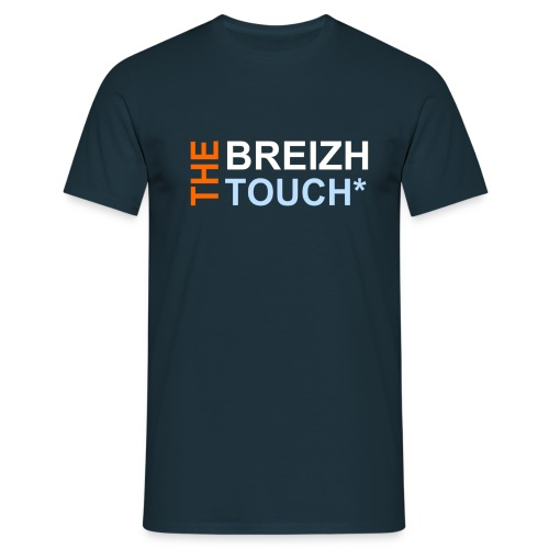 BREHAT HOMME - A MARINE - THE BREIZH TOUCH* - T-shirt Homme