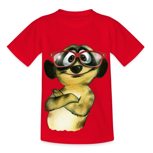 Nerd-Schlingel - Teenager T-Shirt