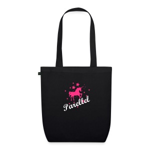 Parellel Pink horse Bag - EarthPositive Tote Bag