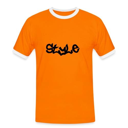 Style Shirt - Männer Kontrast-T-Shirt