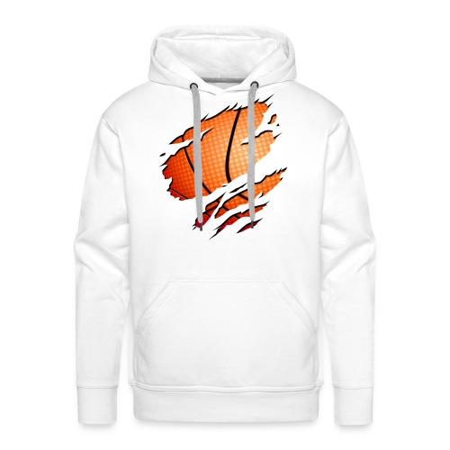 basket  - Sweat-shirt à capuche Premium pour hommes