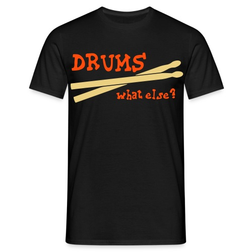 Drums - Mannen T-shirt