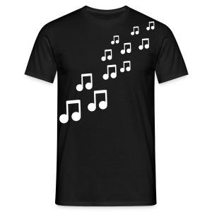 Muziek! - Mannen T-shirt