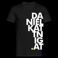 T-Shirts ~ Männer T-Shirt ~ dk.at-Shirt BLACK
