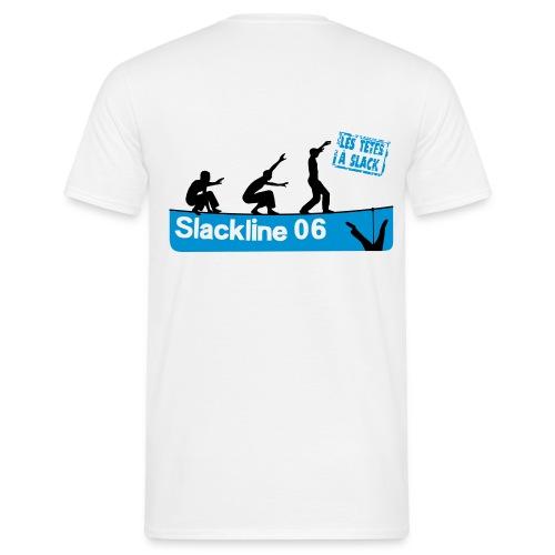 Les Têtes à Slack -Logo au dos - Men's T-Shirt