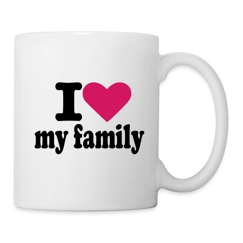Tasse I love my family - Tasse