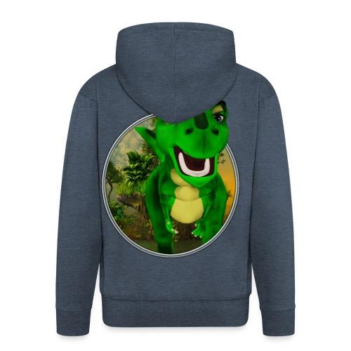 Dino - Männer Premium Kapuzenjacke