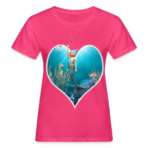 Little Mermaid 1 - Frauen Bio-T-Shirt