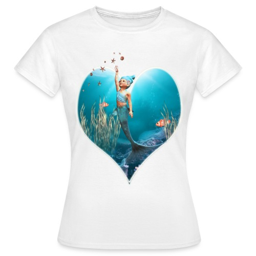Little Mermaid 1 - Frauen T-Shirt
