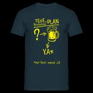 Tee shirts ~ Tee shirt Homme ~ Tee shirt humour breton teuf plan c2b Homme