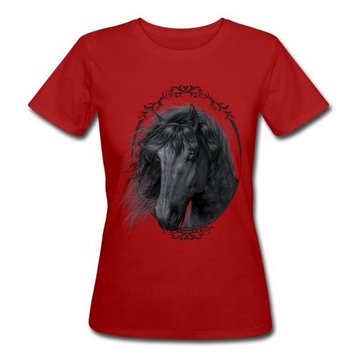 Black Beauty - Frauen Bio-T-Shirt