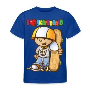 Kid love skateboard - T-shirt Enfant