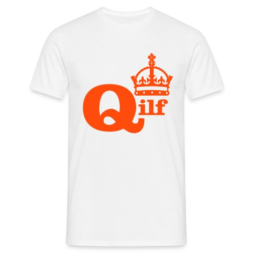 QILF Queen I like to fuck T-shirt - Mannen T-shirt