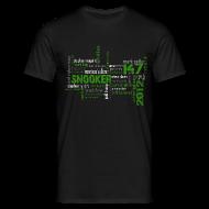 T-Shirts ~ Männer T-Shirt ~ snooker matrix reloaded