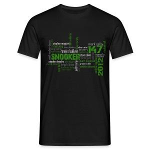 snooker matrix reloaded - Männer T-Shirt
