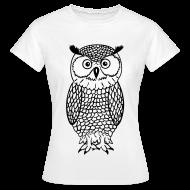 T-shirts ~ Vrouwen T-shirt ~ Uil