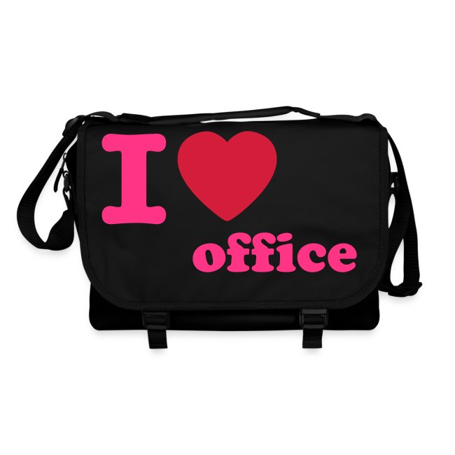 i love office pink