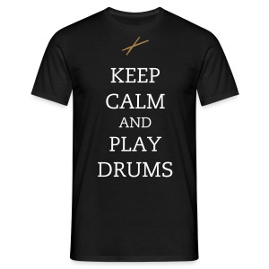 Drums - Male - Men's T-Shirt
