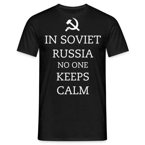 Russia - Male - Men's T-Shirt