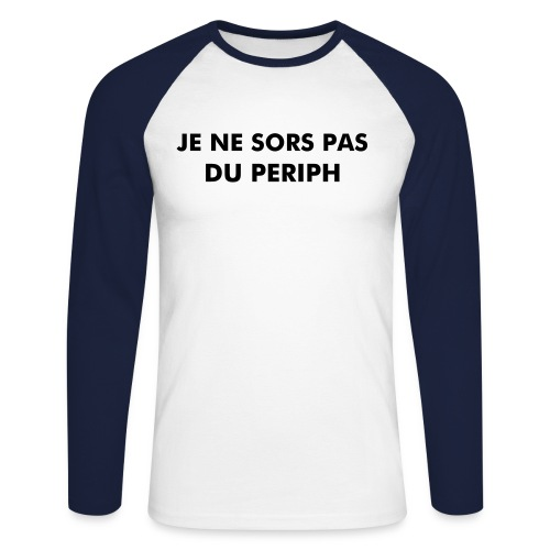 Periph Homme [il parigino] - T-shirt baseball manches longues Homme