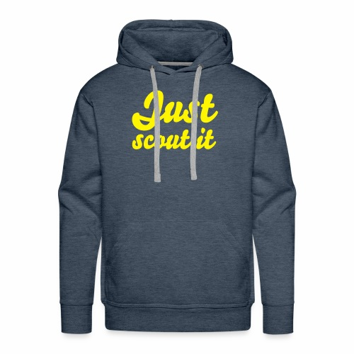 Just scout it - Sweat-shirt à capuche Premium pour hommes