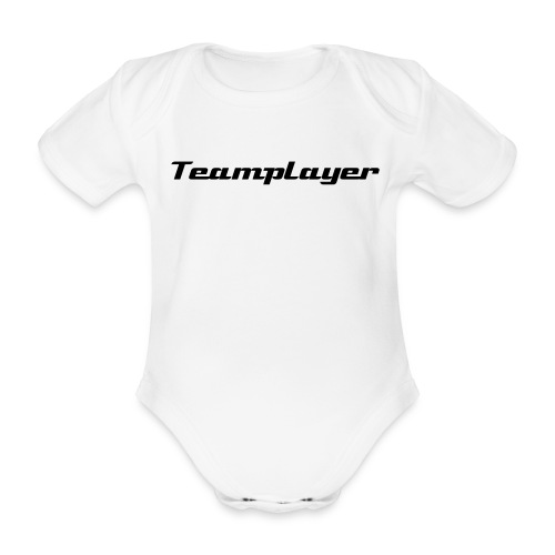 Teamplayer - Baby Bio-Kurzarm-Body
