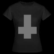 T-Shirts ~ Women's T-Shirt ~ Inverted cross