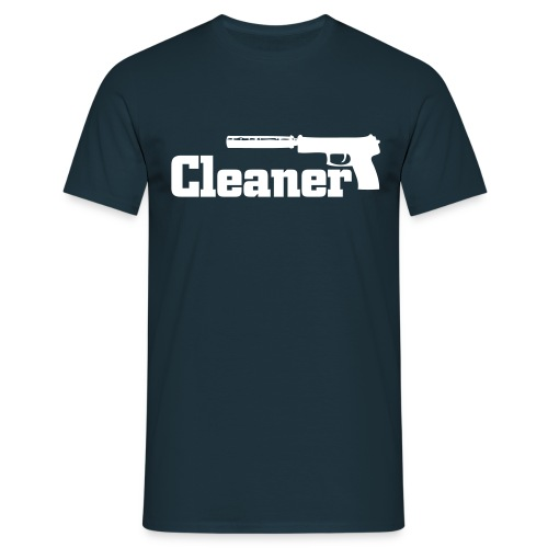 Cleaner T-Shirt navy/dunkelblau  - Männer T-Shirt