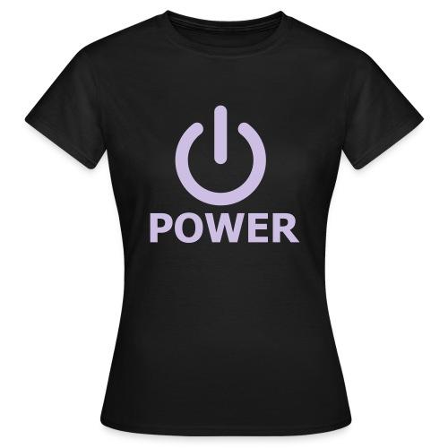 Tee Shirt Femme Power - T-shirt Femme