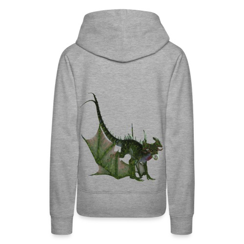 Green Dragon - Frauen Premium Hoodie