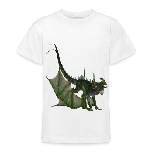 Green Dragon - Teenager T-Shirt