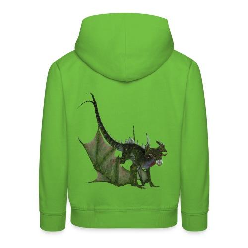Green Dragon - Kinder Premium Hoodie