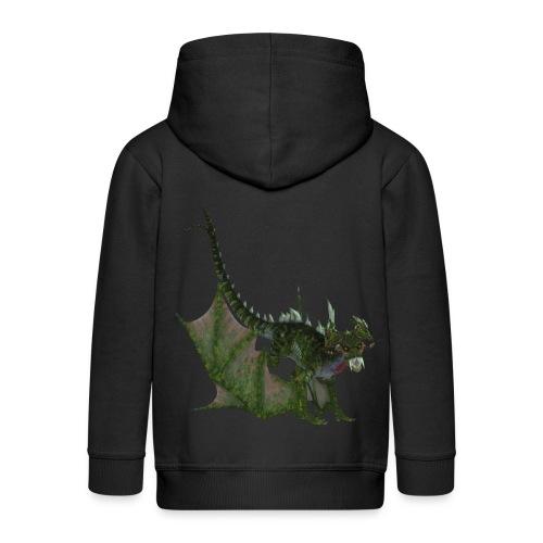 Green Dragon - Kinder Premium Kapuzenjacke