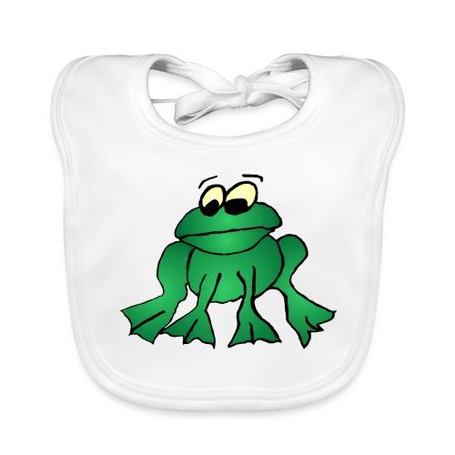 Frosch-Latz - Baby Bio-Lätzchen