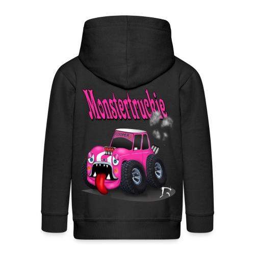 monstertruckie Cooper S stoere hoodie - Kinderen Premium jas met capuchon