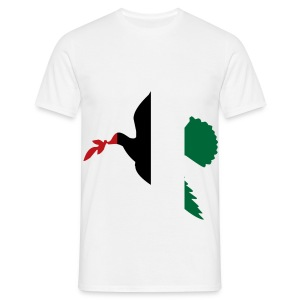 Tee shirt Palestine Colombe - T-shirt Homme